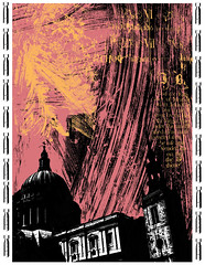 St Paul's Cathedral, City of London (The Blitz) (Martin Beek) Tags: london art architecture illustration digital photoshop artwork war drawing contemporary digitalart drawings icon portfolio blitz studies artworks cityoflondon keifer digitalmedia printsanddrawings thesquaremile martinbeek graphicworks drawingsandprints seethemap martinbeekprintsanddrawings geotaggedcontent eleganceinartgraphicsanddesigngroup martinbeek artworkideas19972008 martinbeekdrawingsandprints thedrawingsofmartinbeek martinbeeksprintsanddrawings drawingsandgraphicwork martinbeekdrawings drawingswatercoloursandprints