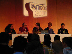 @media Future of the Web Panel (Martin Kliehm) Tags: media tantek tantekcelik mollyholzschlag jonhicks tantekelik jeremykeith ericmeyer atmedia media2006 atmedia2006 ltw2006atmediadaytwo