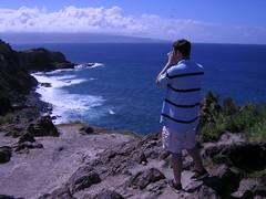 Road along northwest Maui (SpeedNut) Tags: travel honeymoon maui blowhole