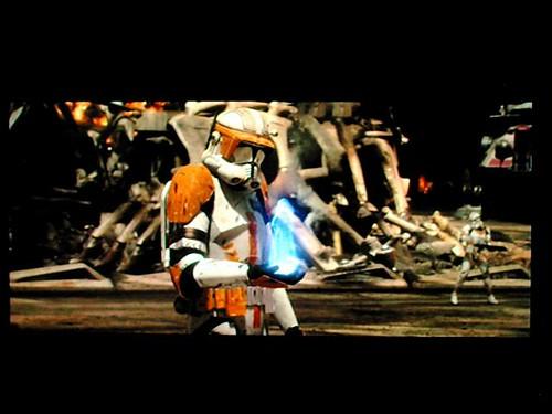 Screen shot of DVD