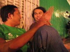 aidil and david (grouchiosa) Tags: studio indonesia la couple jakarta bandung pendulum voila aksara june2006