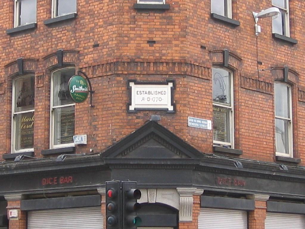 The Dice Bar - Dublin Pub (Established 1770)