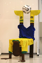 My Brazilian Chair (-ViDa-) Tags: brazil project football 3d chair worldcup finalproject robinho brazilchair