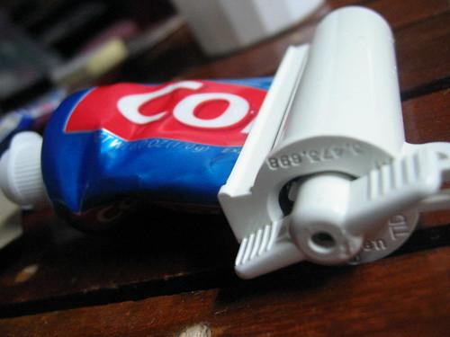 Siempre se puede sacar algo más de pasta de dientes. Foto cortesía de pengrin