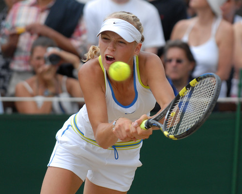 uk girls london ball caroline 2006 nike tennis final d200 championships wimbledon racquet wozniacki