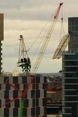 dh9912 (mugley) Tags: construction crane melbourne docklands digitalharbour port1010
