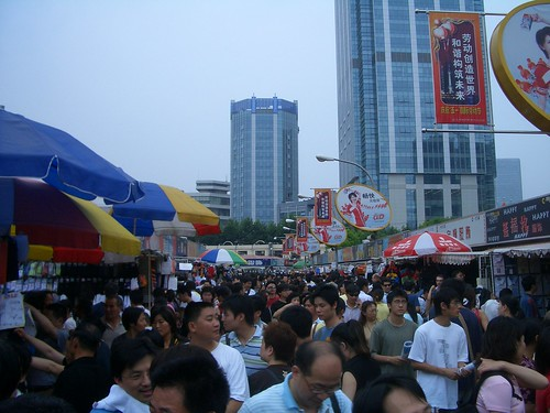 A Crowd at the Market