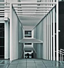 EisenmannEscher (ken mccown) Tags: columbus architecture grid space columbusohio depth eisenmann wexnercenter ohiostateuniversity