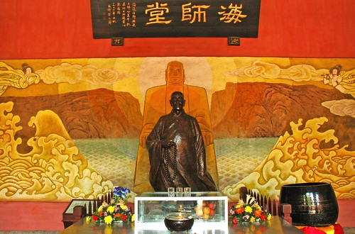 The guy who built the Giant Buddha by Pat Rioux.