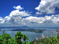 Taal Lake (Rey Nocum) Tags: nature clouds volcano philippines tagaytay taal gettyimagesphilippinesq1