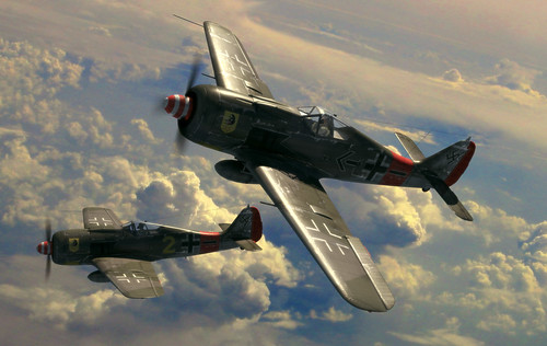 Warbird picture - FW-190