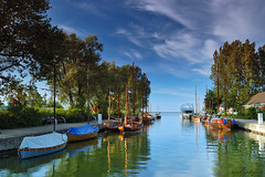 Morning In The Yacht Harbor (Dietrich Bojko Photographie) Tags: morning taggedout d50 germany deutschland harbor bravo tag2 tag1 searchthebest webinteger quality nikond50 darss circularpolarizer 18mm wustrow mecklenburgvorpommern cokinp121 nikkor1855mm tage3 cokinp164 gtaggroup gnd8