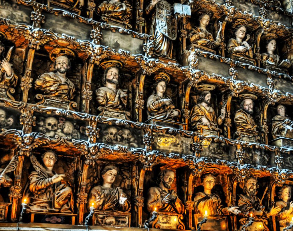 Glowing Icons of Gesu Nuovo