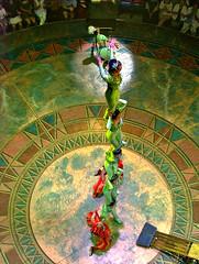 Cirque Du Soleil - Dralion - Teeterboard (Pat Rioux) Tags: show chinese performance acrobatics acrobats cirquedusoleil dralion oldacts
