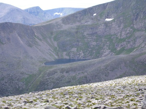 Lochan Uaine from Derry Cairngorm
