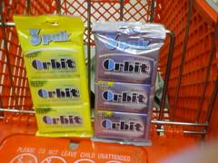 New Orbit Flavors (greggoconnell) Tags: gum bubblegum orbit