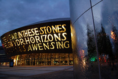 Welsh Opera house, Cardiff Bay