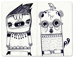 (malota) Tags: moleskine ink sketch drawing journal dibujo libreta tinta diario boceto