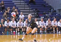 IMG_8330 (SJH Foto) Tags: girls volleyball high school york delone catholic team teen teenager libero dig bump burst mode