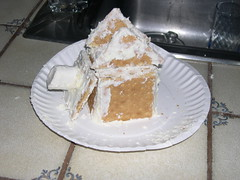 Agent 004's Graham Cracker house