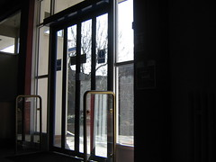 College- Automatic Doors (aidan-m-jebussaves) Tags: urban landscape places horsham