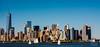 New York Skyline (skmopidevi) Tags: nyc newyork skyline skyscrappers hudson statueofliberty skline theone worldone ilnyc bestskyline
