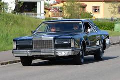 Lincoln Continental Mark V 1977 (hkkbs) Tags: car sweden outdoor bil vehicle sverige 1977 westcoast vstkusten kunglv lincolncontinentalmarkv raggare raggarbilar nikond800 tamronspaf150600mmf563divcusd kunglvscruising