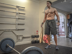 In the gym (ta11rus) Tags: man personal body leicester fitness gym taurus trainer weights
