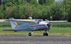 "G-BOKW Bo 208C Junior Sturgate  EGCV Fly In 07-06-15 (PlanecrazyUK) Tags: ""fly in"" sturgate 070615 egcv"