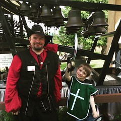 Sir #Malikai and I at the Carillon Bells. #RenFaire #RenFaire2015 #RenaissanceFestival / on Instagram https://instagram.com/p/35G9oiMmo4/