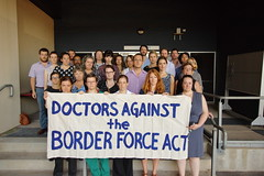 Doctors Against the Border Force Act (jasonkb) Tags: force border protest australia social human rights jail injustice immigration act abuse laws reporting detention mandatory nojailforourduty