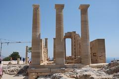 Lindos - Acropolis - Athna dr oszlopos temploma (sandorson) Tags: travel greece rhodes rodi rhodos rodas rodosz grgorszg  sandorson c