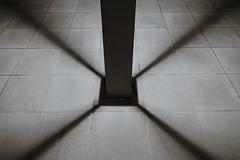Shadow (Akepon) Tags: shadow blackandwhite monochrome symmetry c1 captureone rx100m3