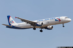 Ural Airlines Airbus A321-211 cn 841 VQ-BKH (Clment Alloing - CAphotography) Tags: barcelona sky cn canon airplane airport mark aircraft bcn flight engine ground off aeroplane landing ii airbus take 5d airways airlines balcon aeropuerto spotting t1 barcelone ural 100400 841 a321211 07l lebl 25r vqbkh