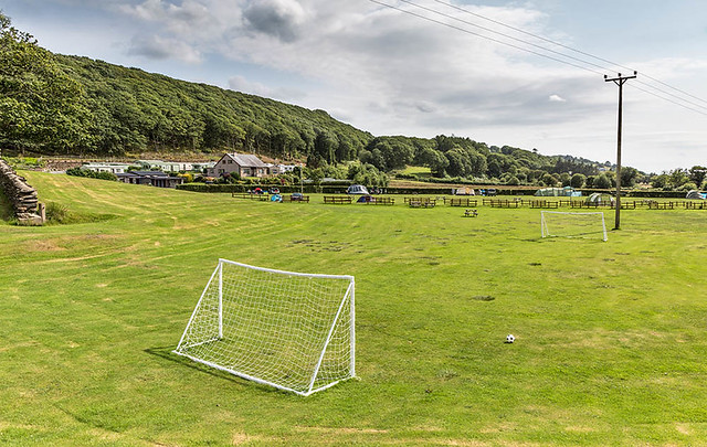 Football Area towards Campsite