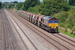 EWS Class 66 66116 (Barry Duffin) Tags: uk england train photography nikon shed rail railway trains dslr stalbans class66 ews toton cossington 66116 d3000 6b05