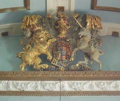 Royal Arms, Honington (Aidan McRae Thomson) Tags: sculpture church warwickshire heraldic honington royalarms