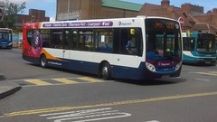 Stagecoach Chester and Wirral, X8 Branded Alexander Dennis Enviro 200, PO12 HTB (27772) (NorthernEnglandPublicTransportHub) Tags: