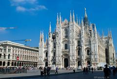 Duomo de Miln, Italia (Fabiola Len Moreno) Tags: italia milano catedral duomo miln gtica gtico catedraldemiln duomodemiln