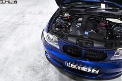 IMG_1054 (Joseph Hui (J_HUI)) Tags: blue canon euro bmw 1series stance x5 6d tigerclaw f4l e85 24105mm e87 135i jhui