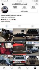 my instagram page (mb.560600.kuwait) Tags: account instagram page photo mercedesbenz 560sel w126 r107 kuwait دبي الكويت سيارات