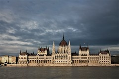 Parliament of Budapest (Ale Mattarozzi) Tags: uman body budapest city color canon photographics people landscape mountain parliament friend sky art architecture holiday day cloud nature
