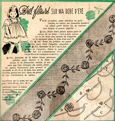 1948 Le Petit Echo de la Mode (april-mo) Tags: 1948 the40s lesannées40 retro vintagemagazine embroidery vintage vintageembroidery