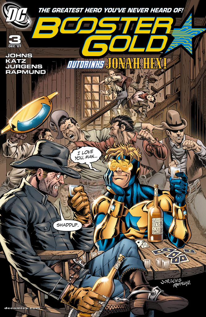 Booster Gold (2007) #3