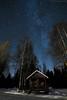 The best things about being a Finn (Dreemeli) Tags: milkyway smokesauna landscape linnunrata luonto maisema nature night savusauna star tähti view yö d7200