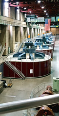 Hoover Dam's hydroelectric generators (SteveMather) Tags: hoover boulder dam lasvegas hydroelectric generators power coloradoriver lakemead blackcanyon