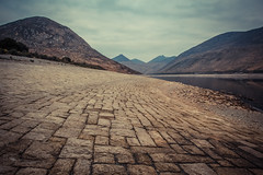 Tiled (ColinParte) Tags: ireland mournes reservoir silentvalley nature industrial