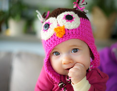 Baby Owlet (rmikulec) Tags: baby girl little cute small owlet expressive