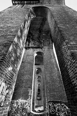 51/52 (2016): Arches (Sean Hartwell Photography) Tags: dollisvalley viaduct millhilleast finchley london londonunderground bridge victorian brick engineering graffiti arches dollisbrook