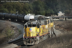 Helpers shoving between Ordway and El Casco, CA (Travis Berryman) Tags: unionpacific beaumonthill uprr upyumasub desertrailroading